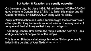 The Real Truth About Jarnail Singh Bhindranwale - MUST WATCH FOR KHALISTANIS