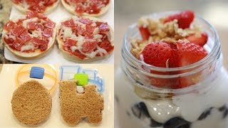 AFTER SCHOOL SNACK IDEAS FOR KIDS!