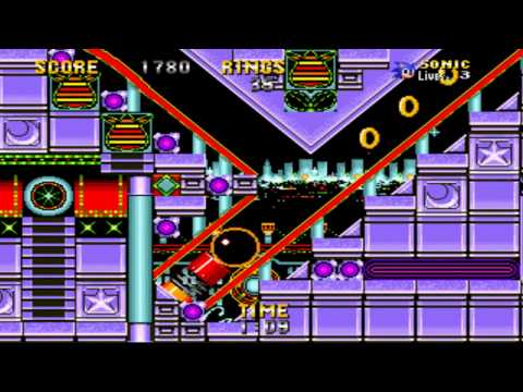 Casino night zone snes