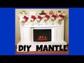 DIY Mantel perfect for your Christmas stockings!