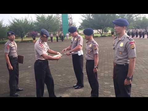 Apel Kesatuan Personel Sat Brimob Polda Jambi dan Pemberian Reward