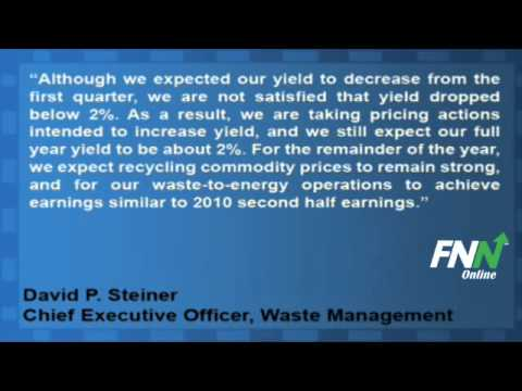 Waste Management Reported Mixed Results For Q2