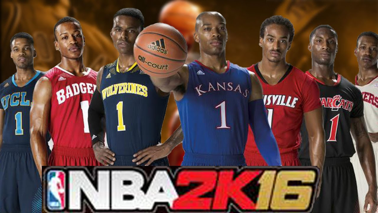 NBA 2K16 MyCAREER - OFFICIAL COLLEGE TEAMS, MARCH MADNESS ...