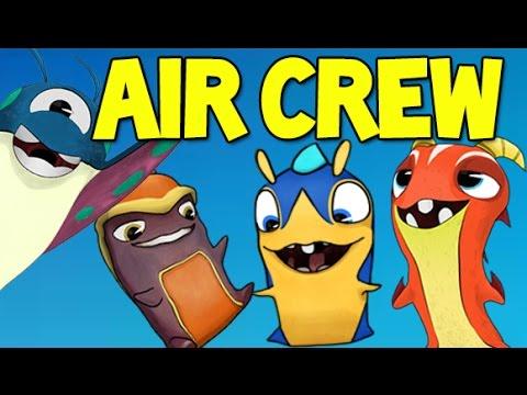 Slugterra / Bajoterra Slug it Out | AIR CREW !! Air Slugs challenge ! (Ep #114)