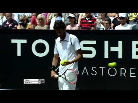 Robin Haase vs Fernando Verdasco ᴴᴰ TOPSHELF OPEN 2015