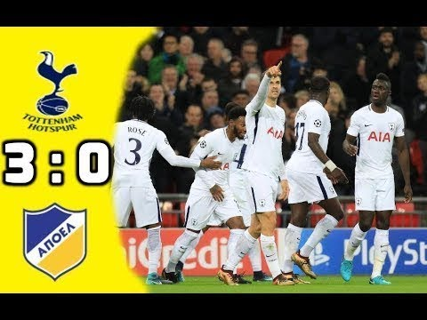 Tottenham vs APOEL Nicosia (3-0) - All Goals & Highlights 06/12/2017 HD