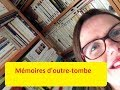 MEMOIRES D'OUTRE-TOMBE CHATEAUBRIAND