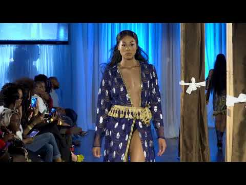 Magic City Fashion Week Runway scene for Demi Blvck Designs