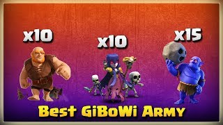 10 Giant+10 Witch+15 Bowler = Best GiBoWi Army | TH11 War Strategy #221 | After Update | COC 2018 |