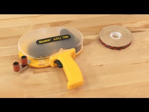 3m Atg 700 Adhesive Transfer Tape Dispenser Youtube