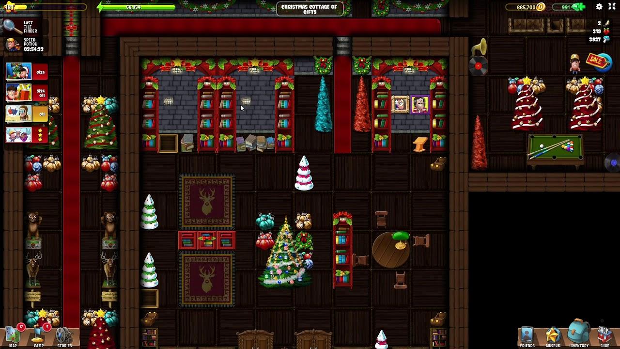 Christmas Cottage of Gifts | #22 Christmas 2019 | Diggy's