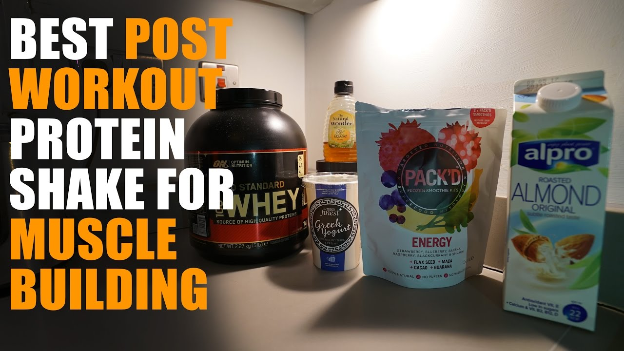 Best Homemade Post-Workout Protein Shake For Muscle ...