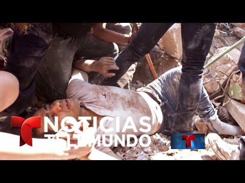 EN VIVO: Imágenes desde México donde continúan labores de rescate | Noticiero | Noticias Telemundo