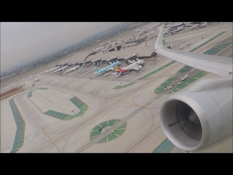American Airlines Boeing 757-200 [N203UW] takeoff from LAX