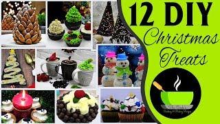 12 Fun Christmas Treat Ideas | DIY Christmas Recipes | Creative Christmas Ideas And Treats