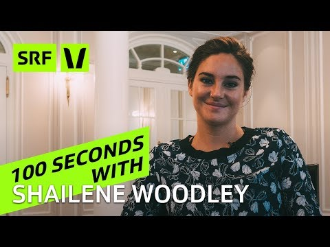 Shailene Woodley: 100 seconds with the «Snowden» actress