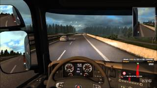Euro Truck Simulator 2 - Scandinavia - København to Oslo Gameplay (PC HD) [1080p]