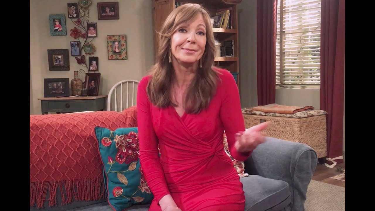 "Allison Janney Nudography ""you've gotta show up."" ~ allison janney"