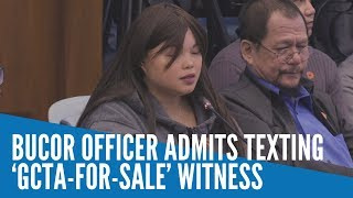 BuCor officer admits texting '…