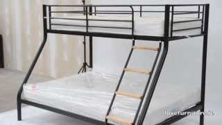 Triple Bunk Bed Metal - Teri Triple Sleeper