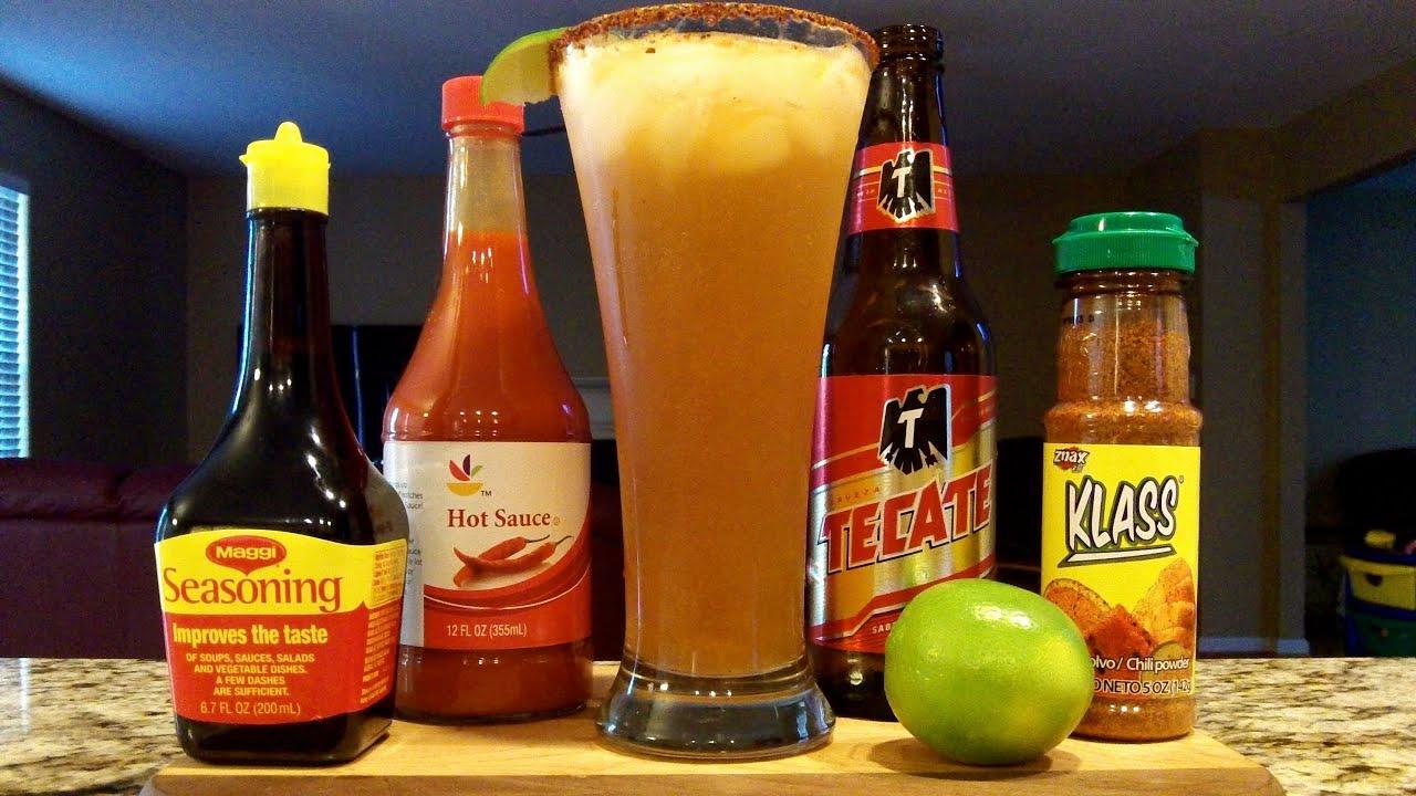 Clamato Beer Drink Recipe