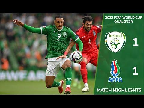 HIGHLIGHTS | Ireland 1-1 Azerbaijan - 2022 FIFA World Cup Qualifier