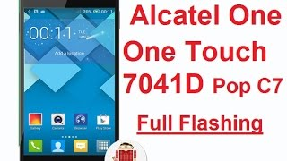 Unbrick and Flash Alcatel One Touch 7041D Pop C7 With Original Firmware