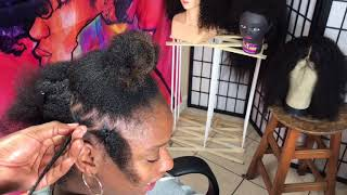 #344. PUZZLE BOX BRAIDS on 4c hair ( requested video)