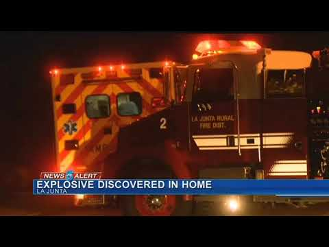 Homes in La Junta evacuated due to explosive device