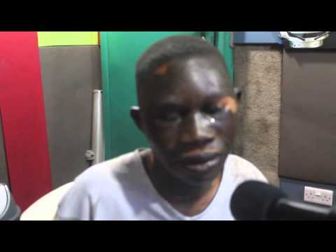 Accra Flood Victim Goes Blind