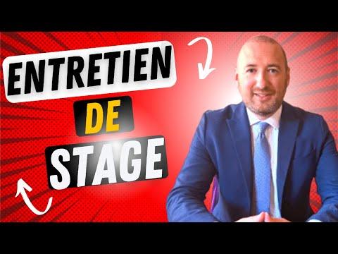 🎯ENTRETIEN DE STAGE: LES QUESTIONS A POSER