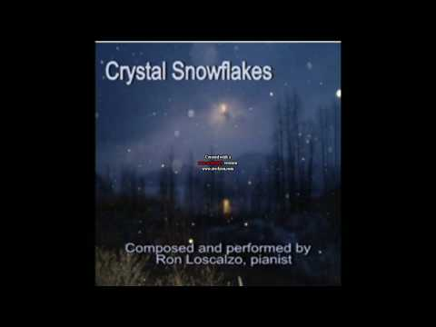 Piano solo,Ron Loscalzo,composer, pianist, Title, Crystal snowflakes