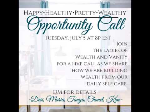 Wealth & Vanity Opportunity Call 7 5 16