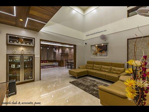 Elite 3 Bhk Interior Design Prabhat Road Pune Manish Shah Associates Youtube