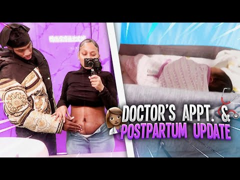 TREU'S FIRST DOCTOR APPOINTMENT! POSTPARTUM DAY 6 ❤️ (VLOGMAS DAY 10)❤️🎄