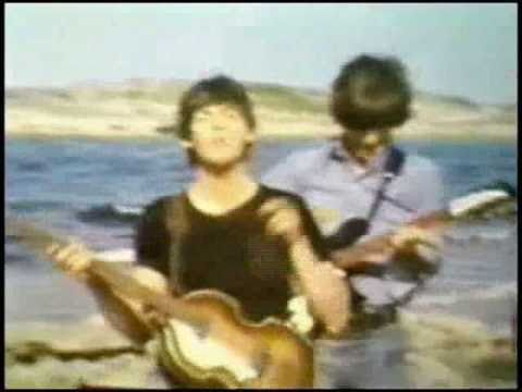 "The Beatles in the Bahamas filming ""Help!'   February '65"