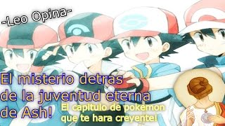 Teoría pokémon: El misterio detras de la juventud eterna de Ash! Teoría Kabuto! -Leo opina-