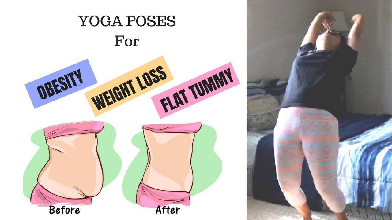 12 Yoga Poses For FLAT STOMACH OBESITY And WEIGHT LOSS