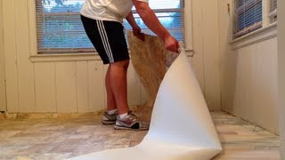 HOW TO INSTALL VINYL FLOORING SIMPLE STEPS TO FOLLOW