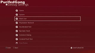 PS4 4.05 ACTIVATE DEBUG_SETTINGS TUTORIAL (EASY)