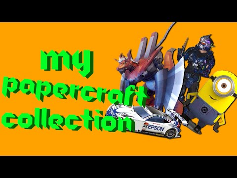 My Papercraft Collection