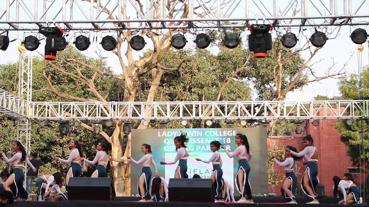 Tanz The Western Dance Society of Miranda House Delhi University at  Quintessence 2018
