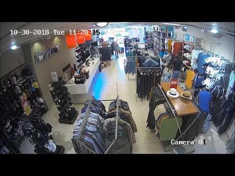 CCTV footage of Markham robbery