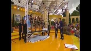 LIVE: Magier Florian Zimmer on TV 2015 (Immer wieder Sonntags) ARD - ILLUSION - MAGIC - ZAUBERKUNST