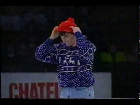 1997 Canadian Stars On Ice: Brian Orser and Josee Chouinard: Brian's Hat