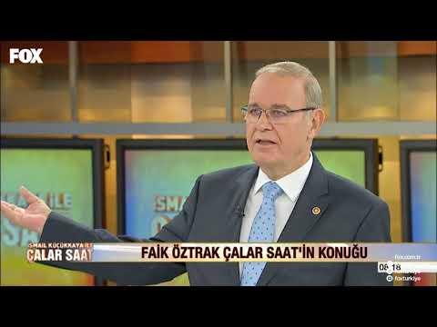 CHP Tekirdağ Milletvekili Faik Öztrak / FOX TV İsmail Küçükkaya ile Çalar Saat (20 Kasım 2017)