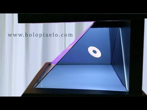 Pyramid 3d hologram for exhibition by www holopixelo com India, Ujjain, Loni, Siliguri, Jhansi, Ulha