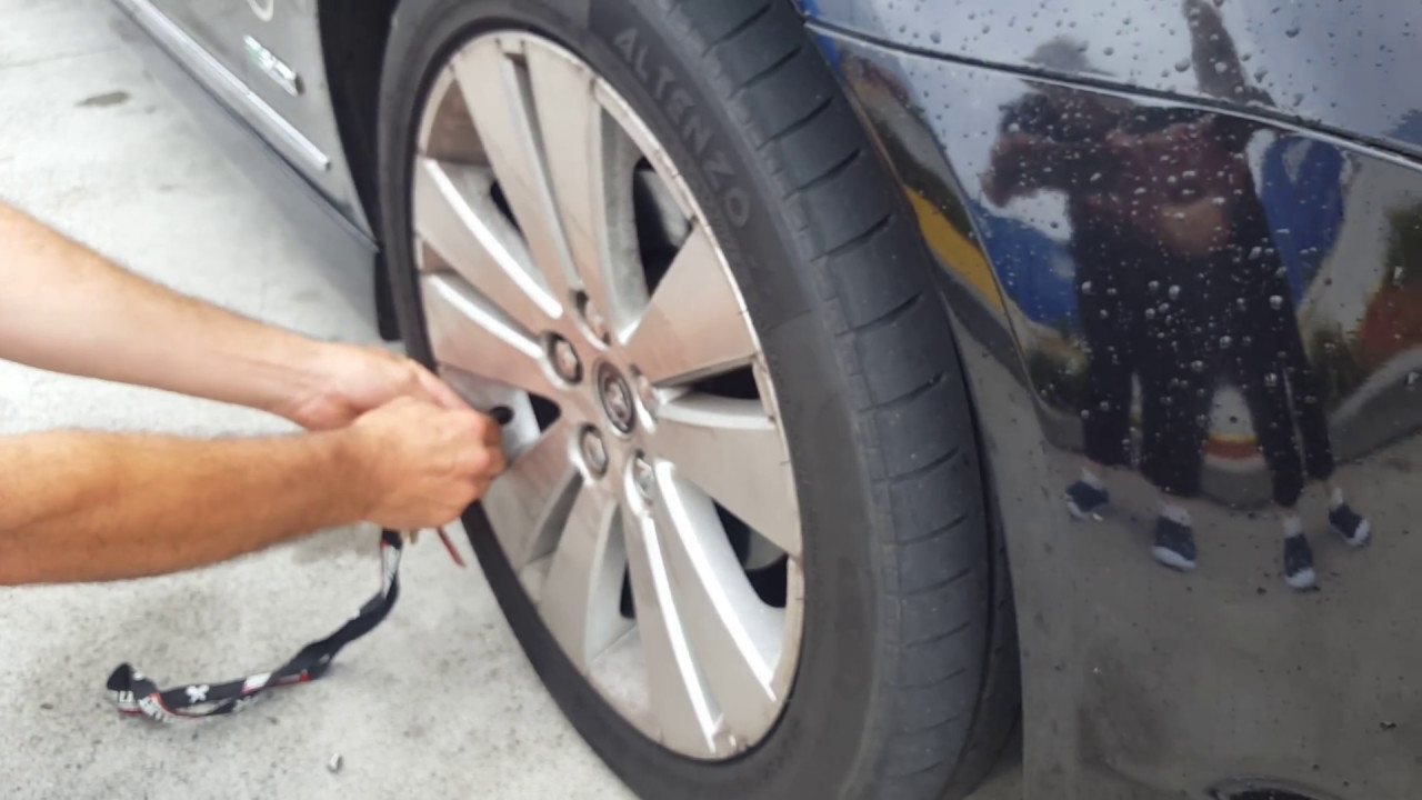 how to re set tyre monitor vf caprice
