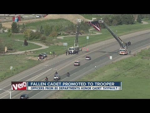 Colo. cadet killed in pursuit promoted posthumously to trooper