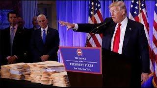 Trump reveals 'winners' of 'Fake News Awards'